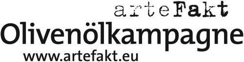 Logo_arteFakt Olivenölkampagne www