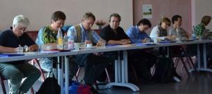 Praxispartner beom 1. Workshop in Kassel 2015